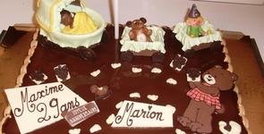Chocolatier Bouvier - Dinant  - GÂTEAUX SUR COMMANDE