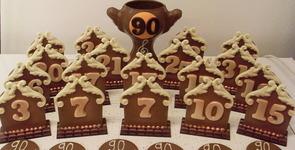 Chocolatier Bouvier - Dinant  - Décors personnalisés